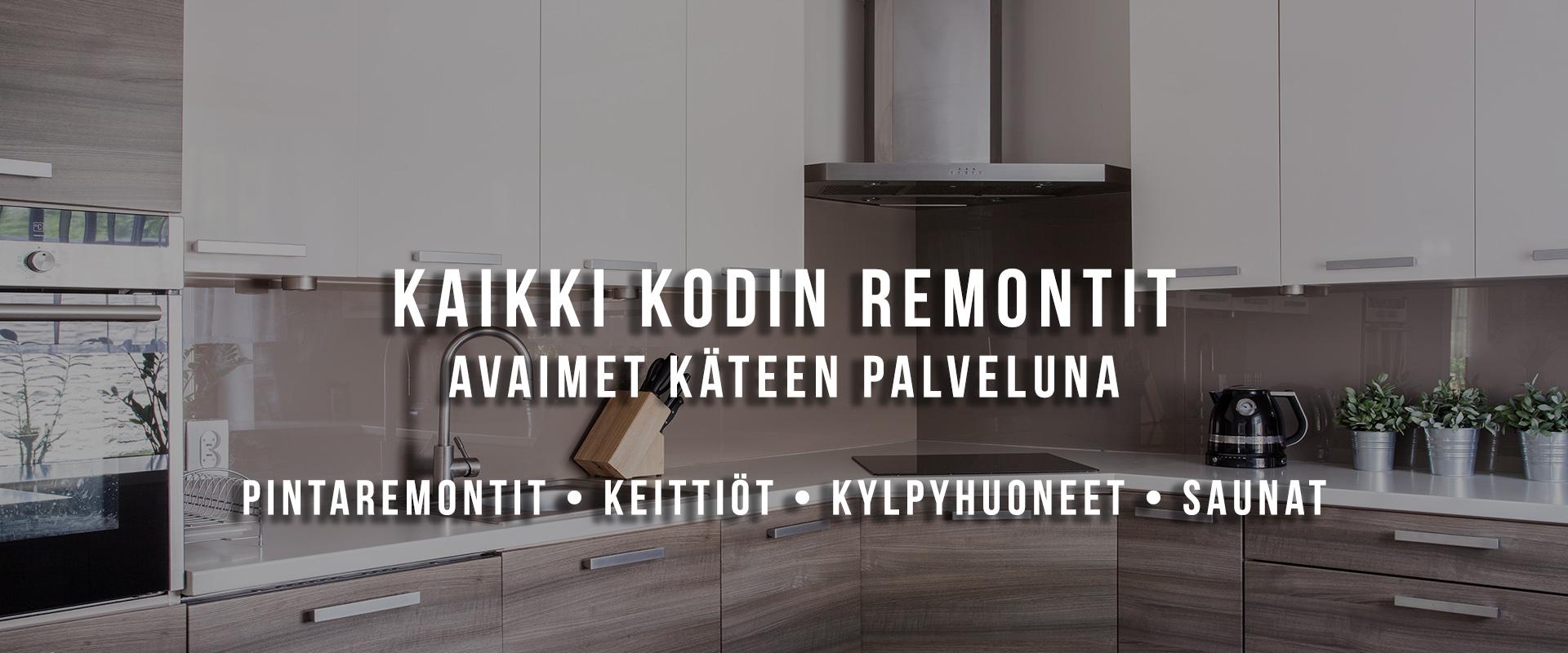Huoneistoremontit Tampereen seudulla - Finnish Merle Oy