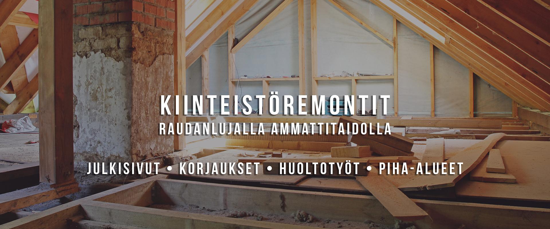 Kiinteistöremontit Pirkanmaalla - Finnish Merle Oy